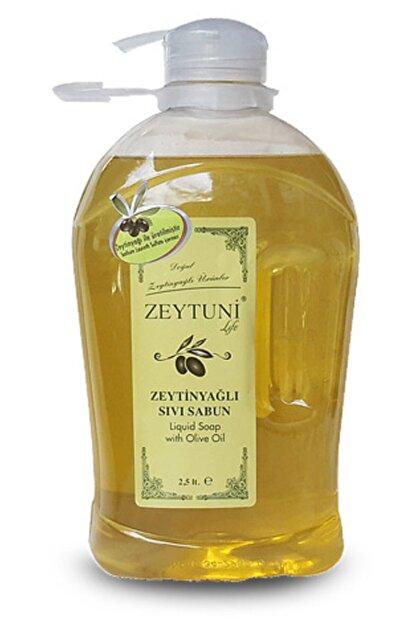 Zeytuni Saf Zeytinyağlı Sıvı Sabun 2,5 Litre