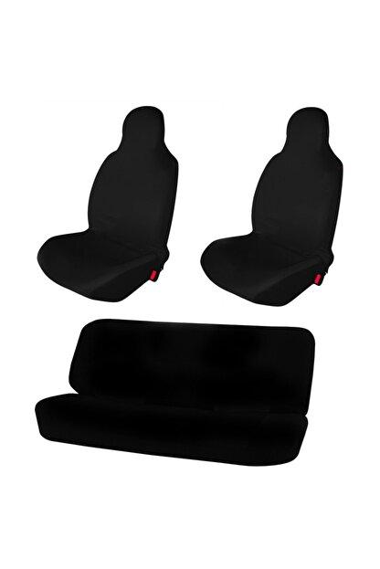 1araba1ev Hyundai Genesis Araç Servis Atlet Kılıf Penye Logosuz Siyah