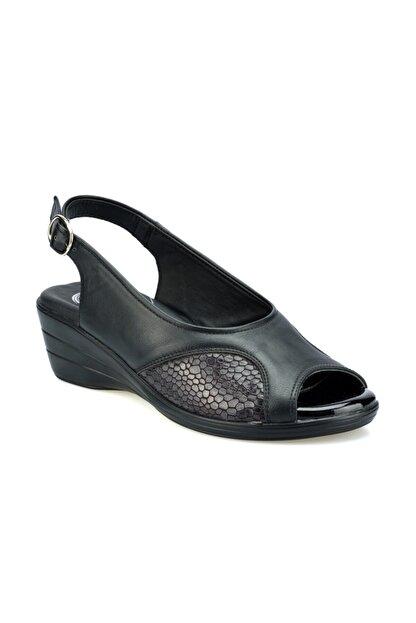 Polaris 103070.Z Siyah Kadın Sandalet 100508675