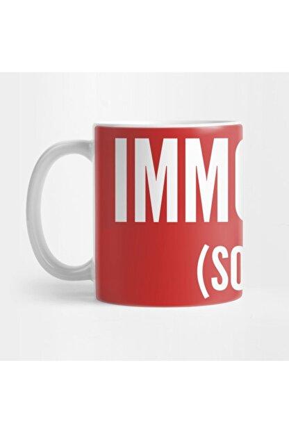 TatFast Immortal (so Far) - Joke Funny Slogan Statement Logo Kupa