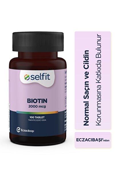 Eczacıbaşı Selfit Biotin 2000 Mcg 100 Tablet