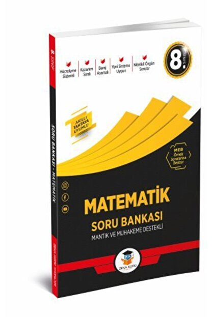 Zeka Küpü Yayınları Zeka Küpü 8. Sınıf Matematik Soru Bankası