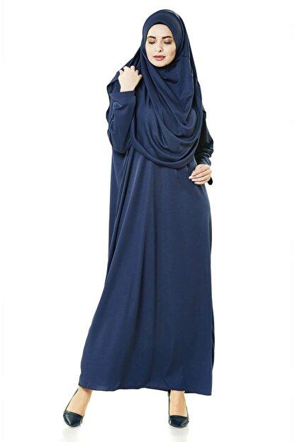 nonogiyim Kadın Penye Tek Parca Namaz Elbisesi