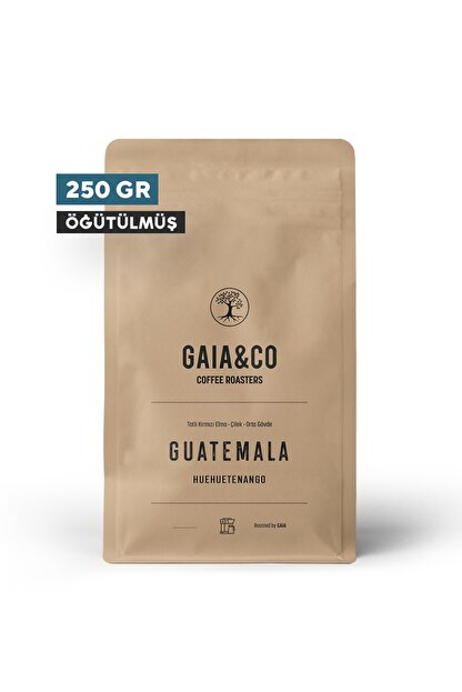 GAIA&CO COFFEE ROASTERS Guatemala / Huehuetenango | Öğütülmüş Filtre Kahve 250/gr