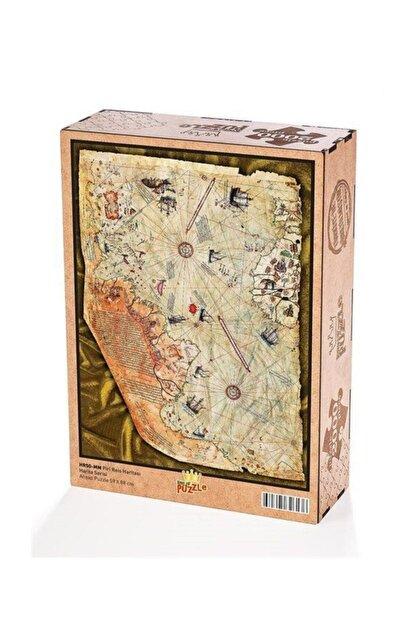 King Of Puzzle Piri Reis Haritası Ahşap Puzzle 2000 Parça