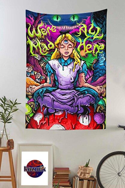 Kozmik Tapestry Psychedelic Alice In Wonderland