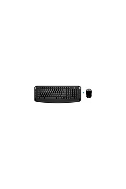 HP 300 Kablosuz Klavye & Mouse 3ml04aa Kombo Set - Siyah (Türkçe)