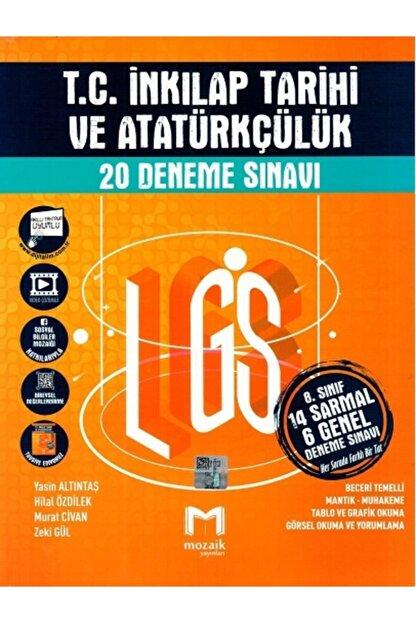 Mozaik Yayınları Mozaik 8. Sınıf Tc. Inkılap Tarihi 20 Li Deneme 2021