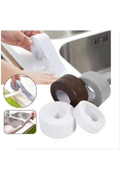 Arus 3.2 M Banyo Küvet Mutfak Lavabo Beyaz Su Sızdırmaz Bant Su Geçirmez Kenar Bandı Sızdırmazlık Tamir