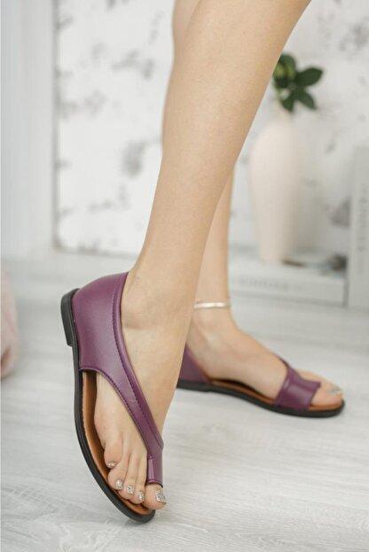 Moda Frato Kadın  Parmak Arası Ayakkabı Sandalet