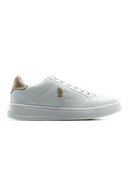 US Polo Assn Kadın Sneaker Spor Ayakkabı (36-40) 21y Exxy Z