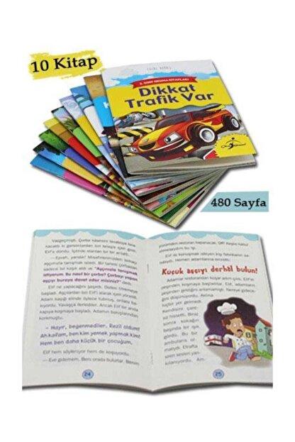 Çocuk Gezegeni 2. Sınıf Okuma Kitapları Seti - 10 Kitap - 480 Sayfa