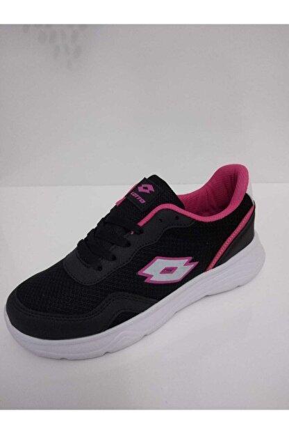 Lotto Kadın Siyah Spor Ayakkabı