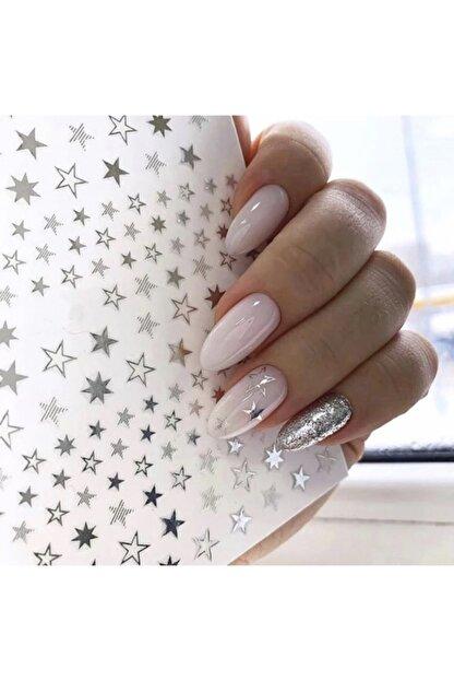 ACCESSORIES WORLD Tırnak Sticker Nail Art Süsleme Yıldız Etiket