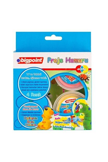 Bigpoint Proje Hamuru 4 Renk x 28 gr