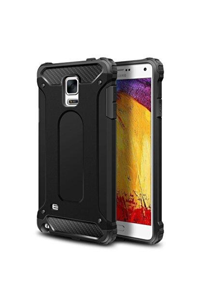 Samsung Galaxy Note 4 Uyumlu Kılıf Armor Series, Strong Rugged Case