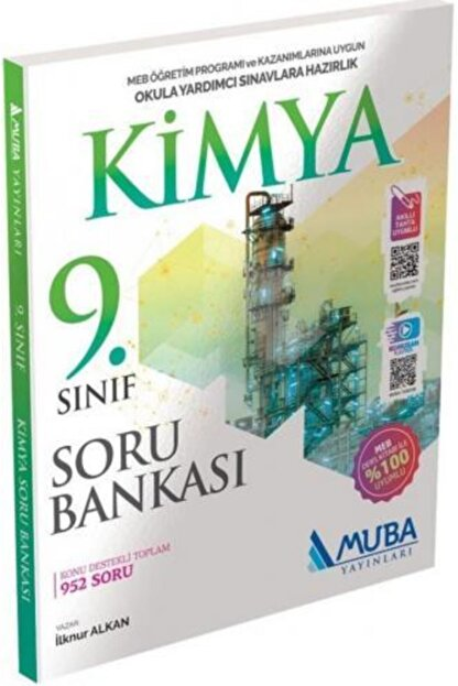 Muba Yayınları 9.Sınıf Kimya Soru Bankası - 2021 Müfredatı