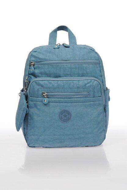 Smart Bags Buz Mavisi Kadın Sırt Çantası