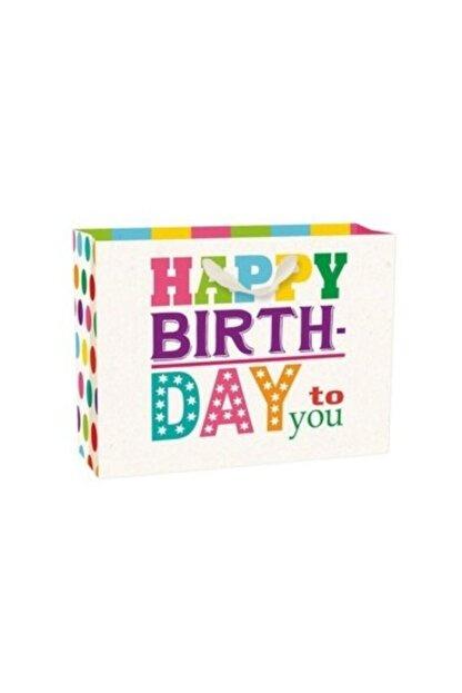 Legami Büyük Boy Karton Poşet Happy Bırthday Color