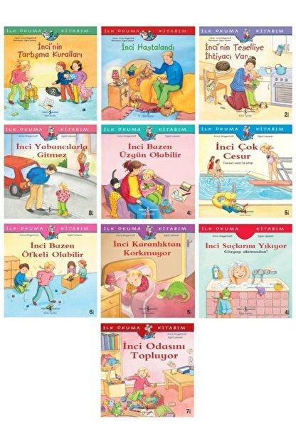 İş Bankası Kültür Yayınları Okul Öncesi Ilk Kitabım Incinin Maceraları Seti 10 Kitap