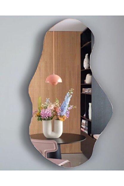 FNC CONCEPT Dekoratif Asimetrik Duvar Aynası 45x80cm