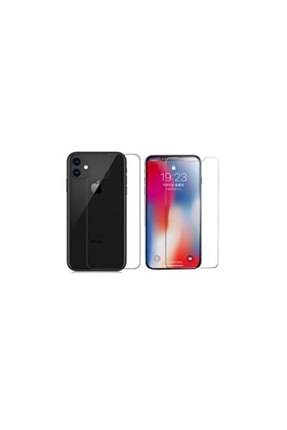 BCA Iphone 11 Ön Ve Arka Ön Ve Arka Kırılmaz Standart Koruyucu Temperli Cam