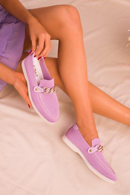 Soho Exclusive Lila Kadın Casual Ayakkabı 16108