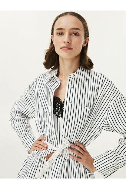 Twist Kadın Beyaz Çift Parça Elbise