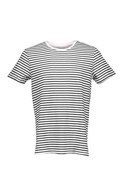 Collezione Siyah Erkek Yeşil Spor Regular Kısa Kol T-shirt