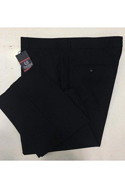 Beretta Erkek Siyah Kumaş Pantolon (Pilesiz)