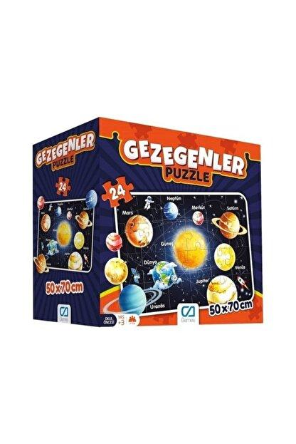 CA Games 24 Parça Gezegenler Maxi Boy Eğitici Puzzle