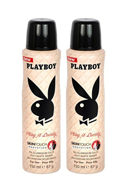 Playboy Lovely Kadın Deodorant 150 Ml X2