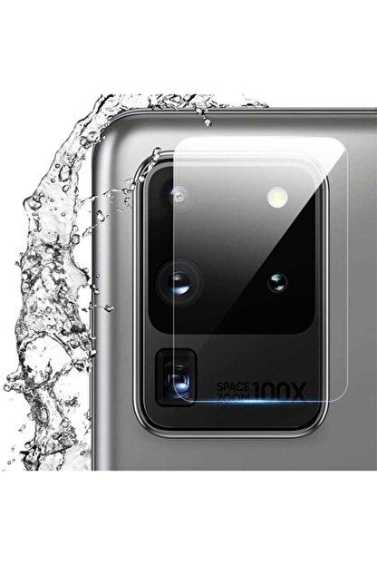 Samsung Galaxy S20 Ultra Uyumlu Kamera Lens Koruyucu Hd Ince Yüksek Kalite Cam Filmi