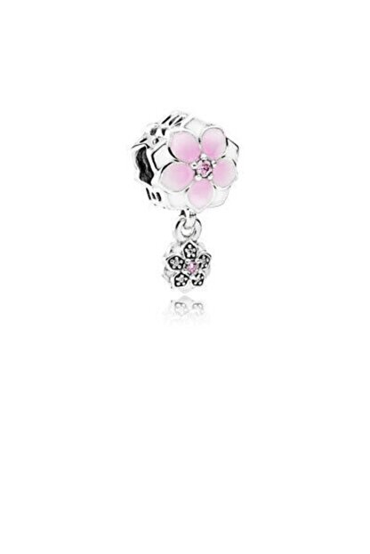 My Story Manolya Çiçeği Gümüş Charm