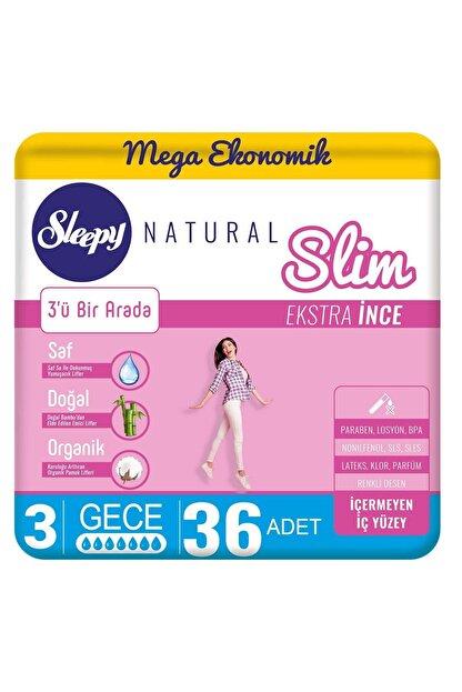 Sleepy Natural Slim Ekstra Ince Gece36 Ped