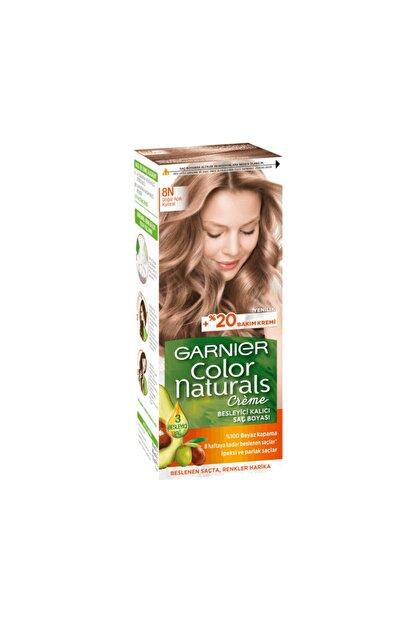 Garnier Color Naturals Saç Boyası - 8n Doğal Açık Kumral