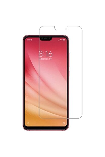 Fibaks Xiaomi Mi 8 Lite Uyumlu 9h Temperli Cam Sert Şeffaf Ekran Koruyucu