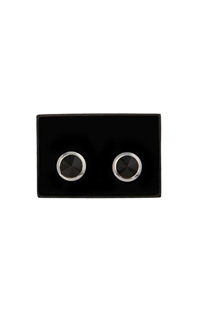 Altınyıldız Classics Erkek Siyah Klasik Gömlek Siyah Kol Düğmesi