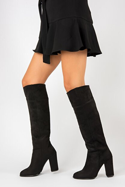 Fox Shoes Siyah Kadın Çizme G922920502