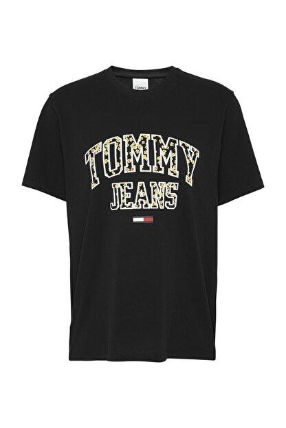 Tommy Hilfiger Kadın Siyah T-Shirt Tjw Collegıate Floral Tee DW0DW09144