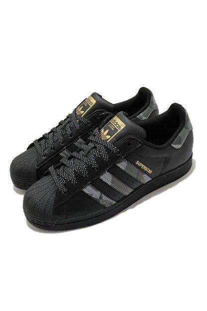 adidas Unisex Siyah Superstar Sneaker