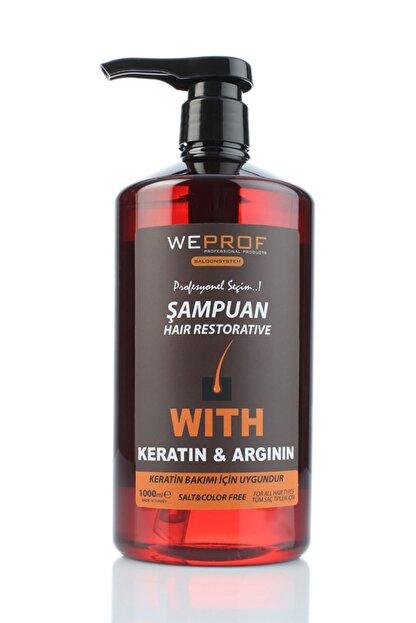 WEPROF Keratin & Argının Şampuan