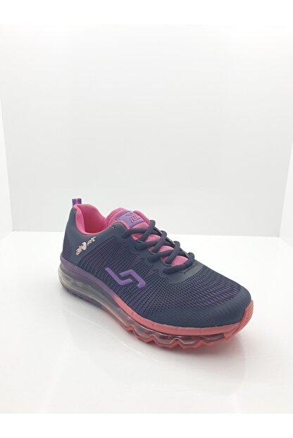 Jump Kadın Mor Air Tabanlı Günlük Spor Ayakkabı