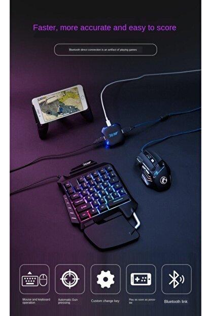 Polygold Jchf-68 3 In 1 Klavye Mouse Bağlantılı Mobil Oyun Seti