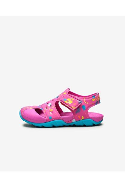 Skechers SIDE WAVE - Küçük Kız Çocuk Pembe Sandalet