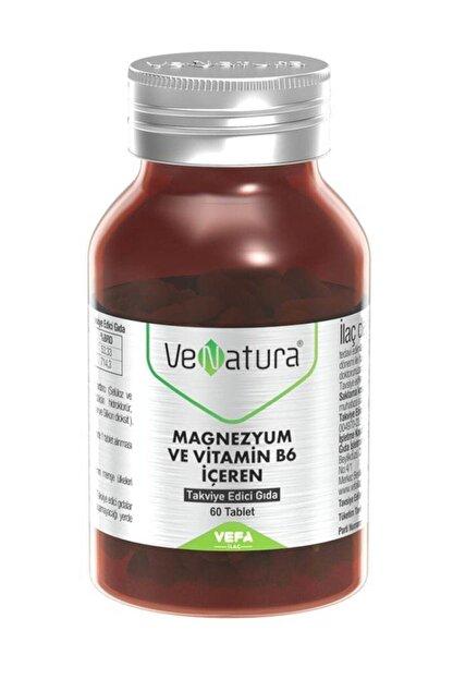Venatura Magnezyum ve Vitamin B6 Takviye Edici Gıda 60 Tablet