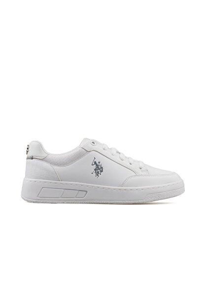 US Polo Assn SOLETA 1FX Beyaz Kadın Havuz Taban Sneaker 100910755