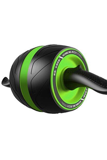 Nivagatore Carver Fitness Vücut Şekillendirici Egzersiz Karın El Ayak Direnç Tekerleği Yeşil