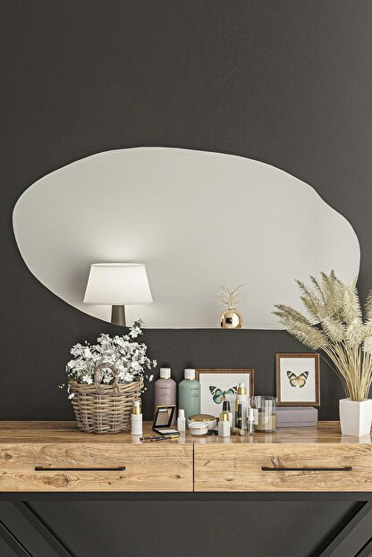 bluecape Stonee  Antre Hol Koridor Dresuar Konsol Duvar Salon Mutfak Banyo Wc Ofis Çocuk Yatak Oda Ayna 101cm