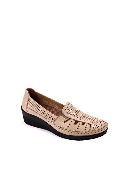 Forelli Kadın Bej Comfort Ayakkabı 26202